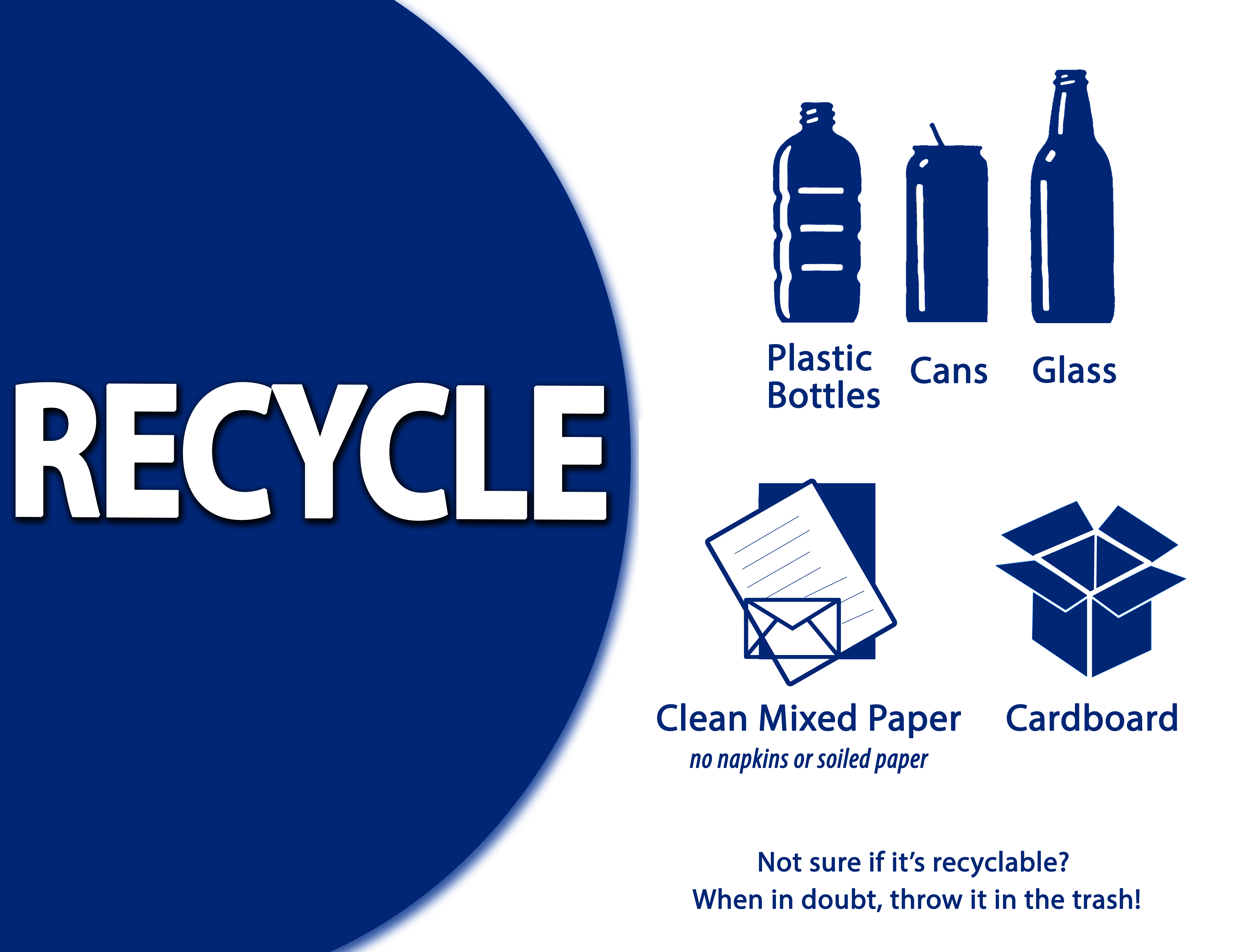 Don't Just Recycle, Recycle Right! | Frederick County MD