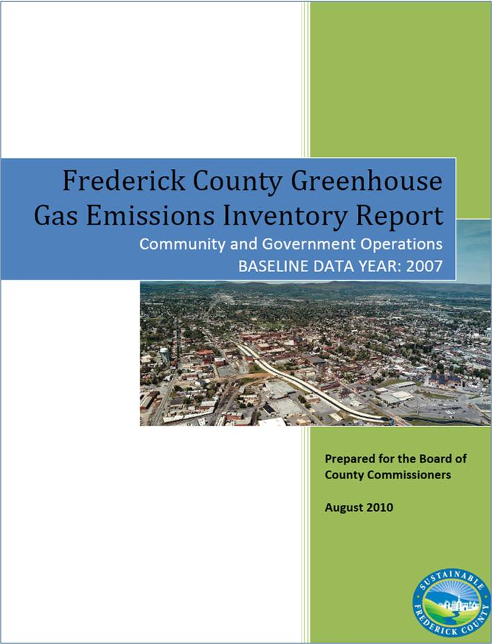 GHG Report Cover