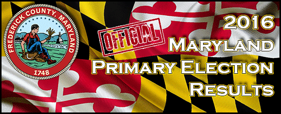 2016 Presidential Primary Election OFFICIAL Results