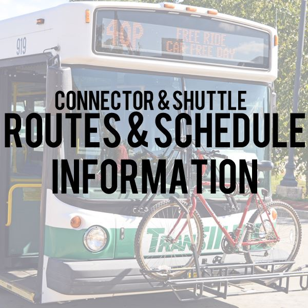 Connector Routes and Schedules