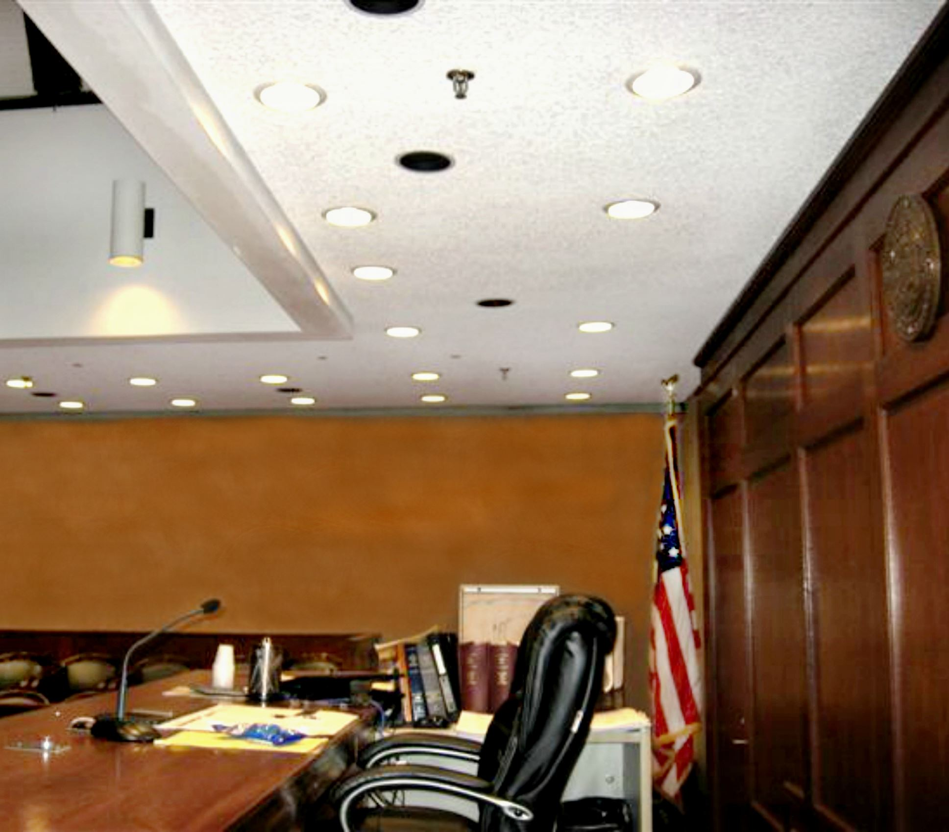 LED lights, Courthouse2