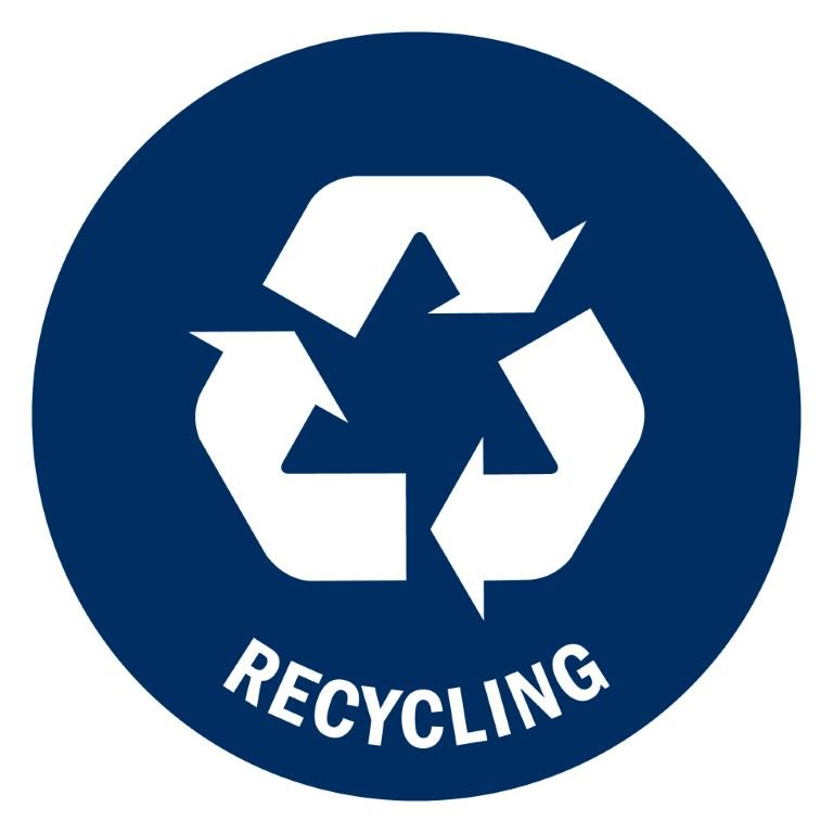 recycle bin label