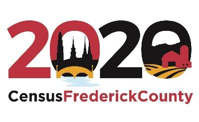 2020 Frederick County Census Logo