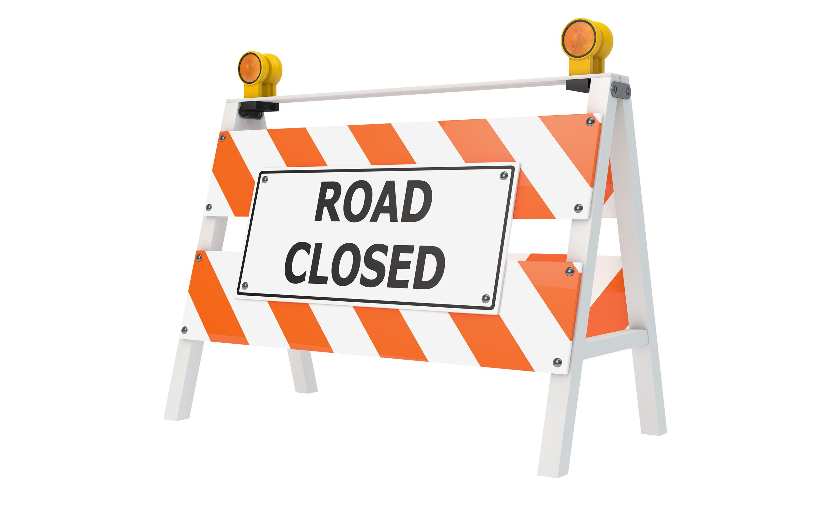 Road closed shutterstock_119223532