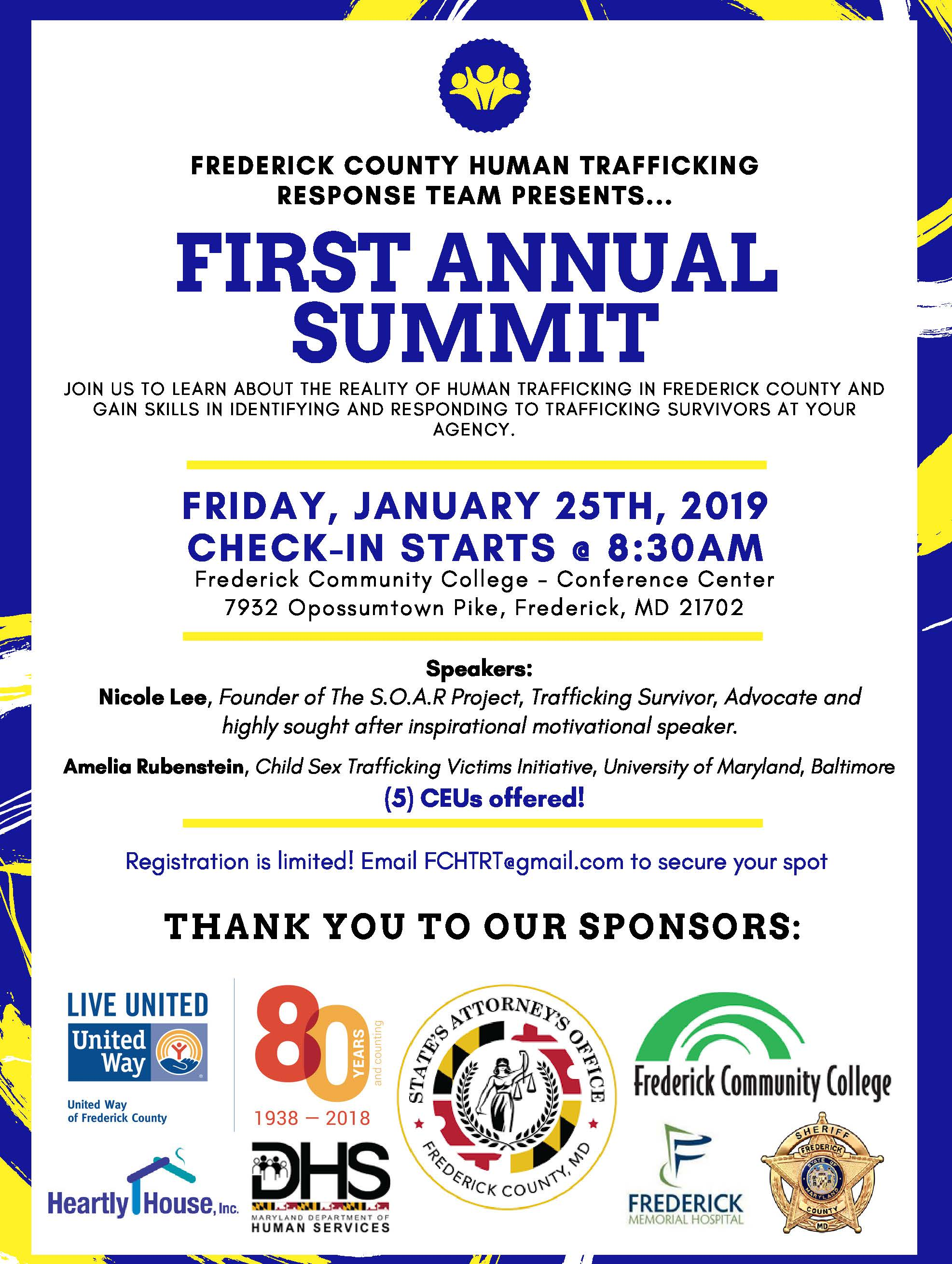 Final First Annual Summit Flyer